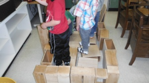 Ship building part 1, working together