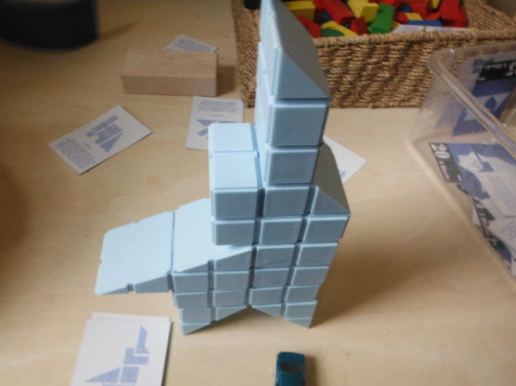 They all start out as cubes but they hinge differently.
