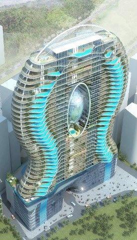 architectural drawing of Mumbai apartment